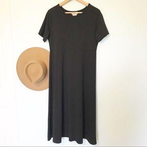 TravelSmith black maxi dress